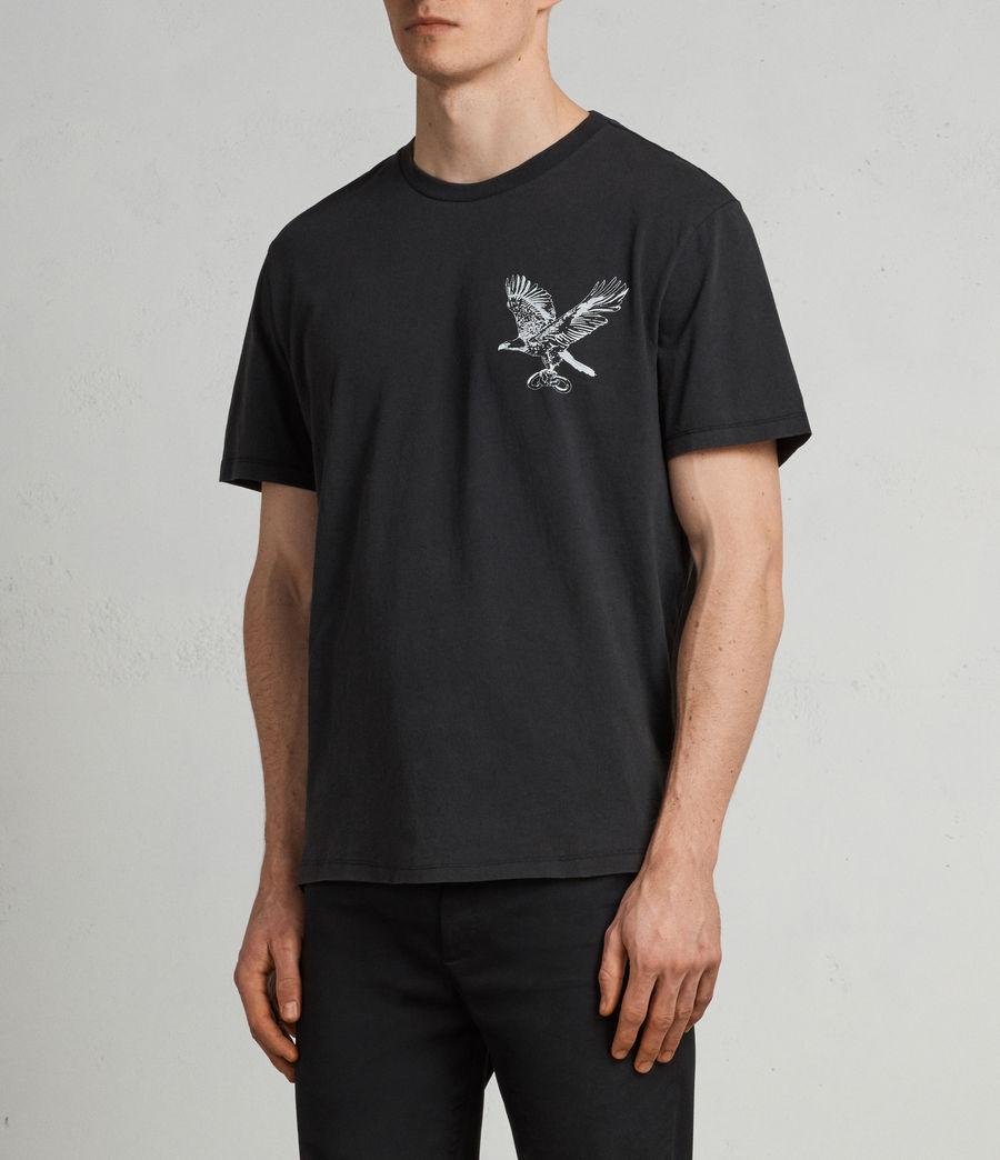 Men's Sunbird Crew T-Shirt (vintage_black) - Image 4