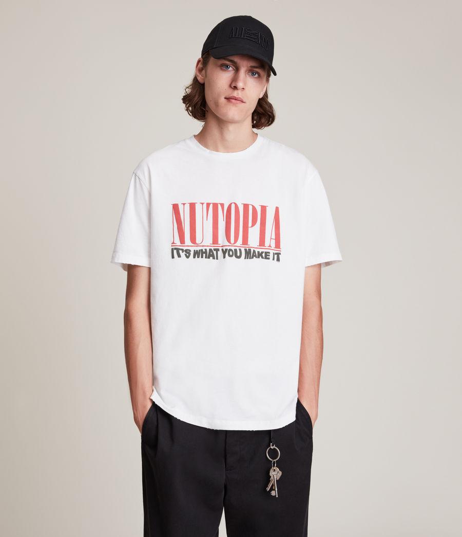 Men's Ninety Crew T-Shirt (chalk_white) - Image 1