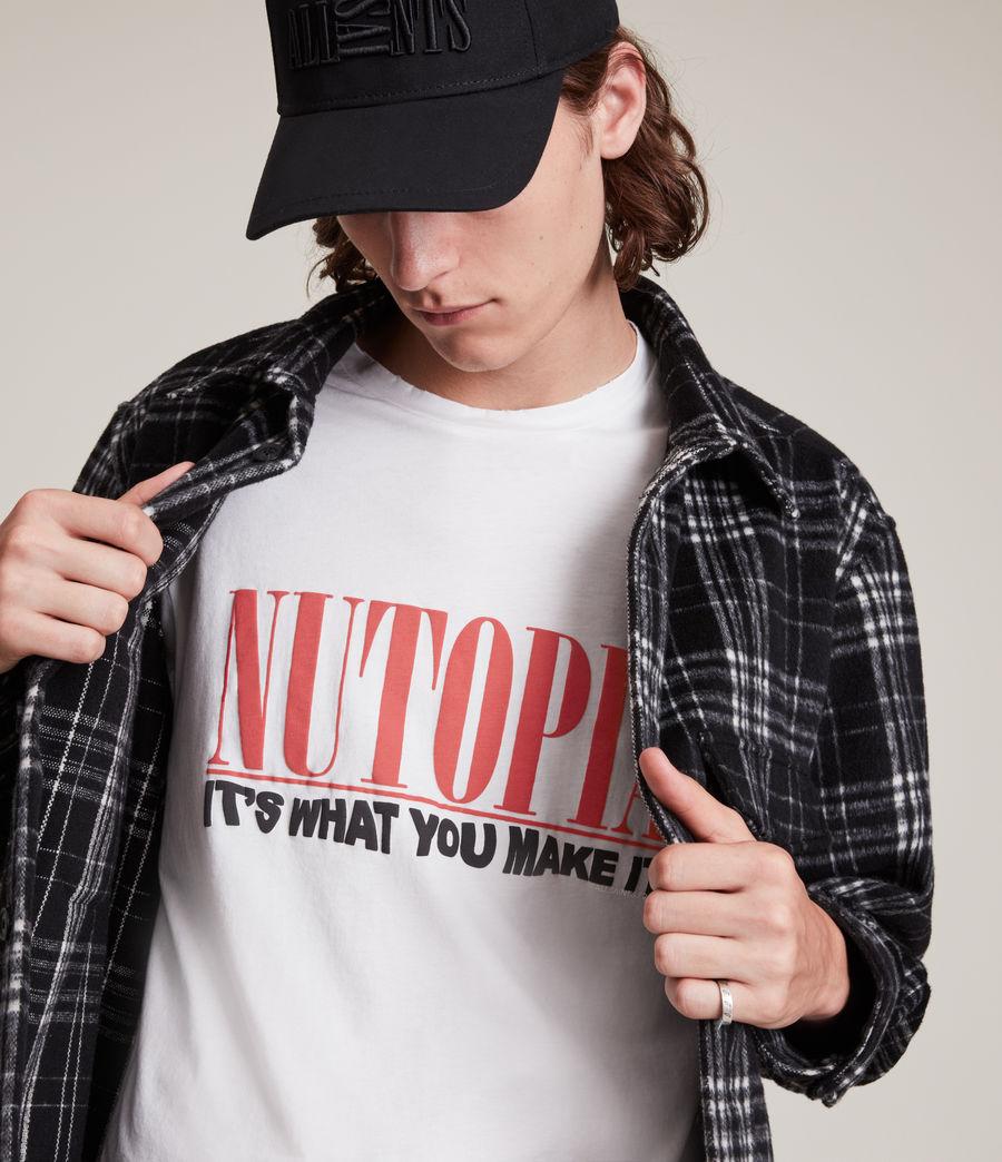 Men's Ninety Crew T-Shirt (chalk_white) - Image 2