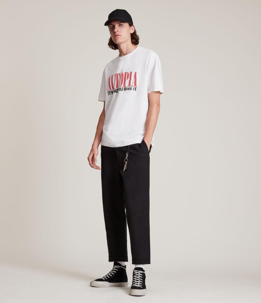 Men's Ninety Crew T-Shirt (chalk_white) - Image 4