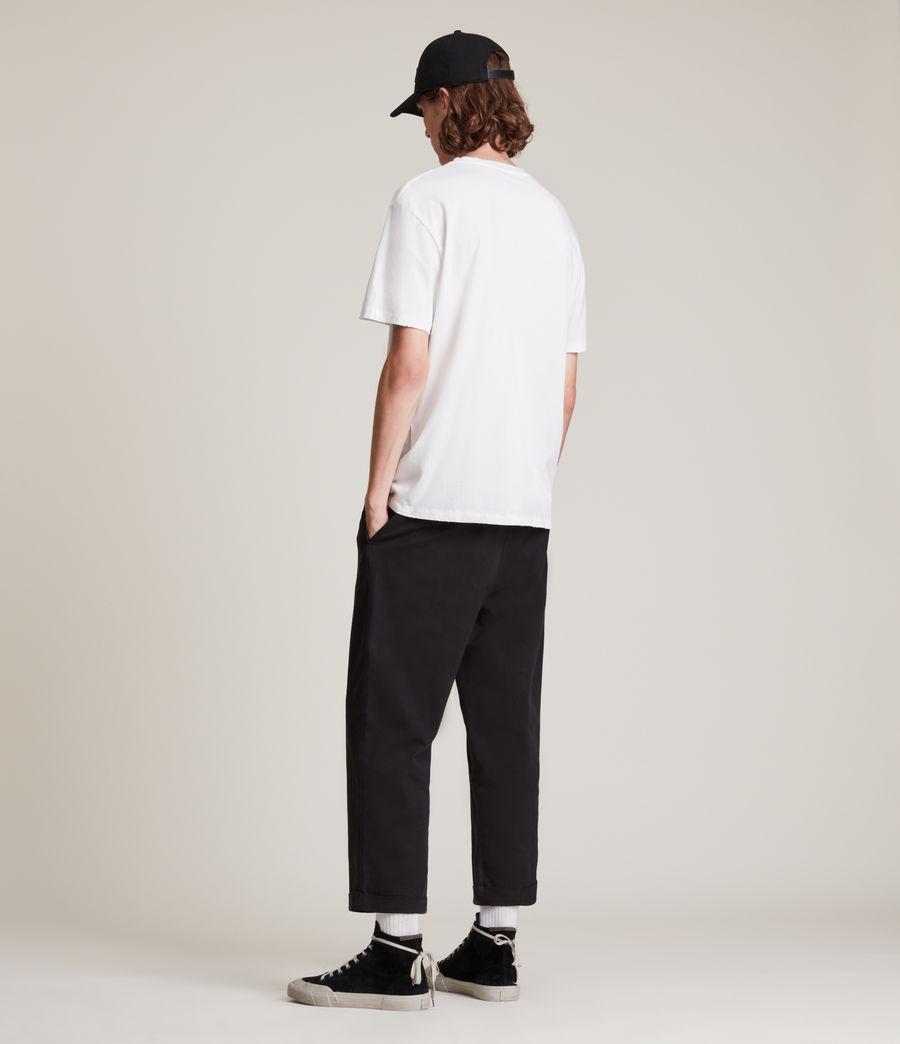 Men's Ninety Crew T-Shirt (chalk_white) - Image 5