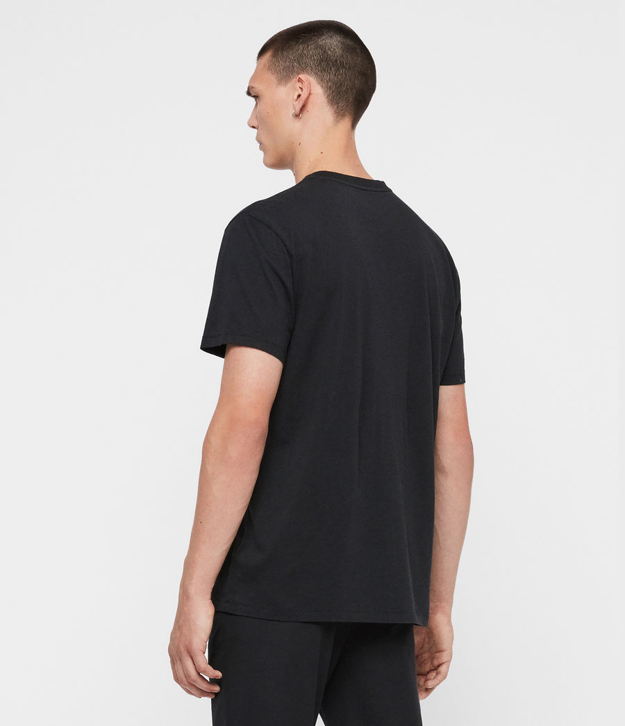Mens Okay Crew T-Shirt (jet_black) - Image 4