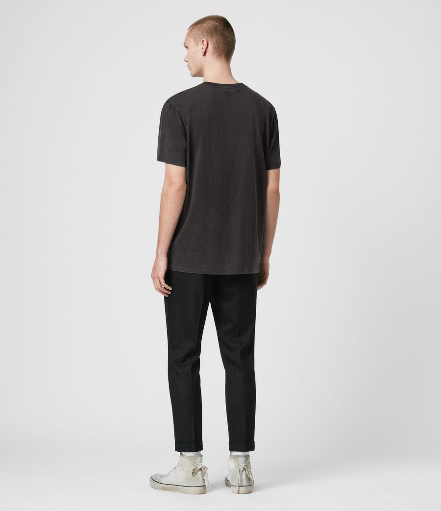 Herren Shield T-Shirt (vintage_black) - Image 3