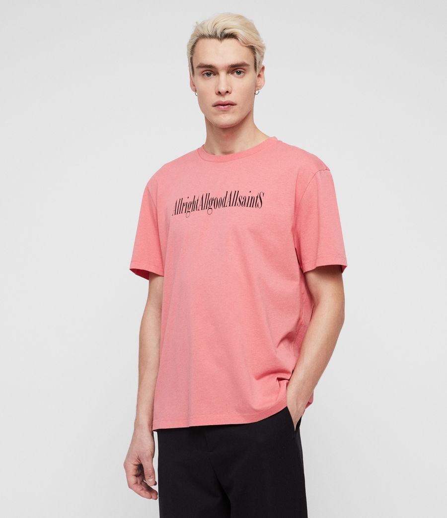 Mens Allgood Crew T-Shirt (sorbet_pink) - Image 3