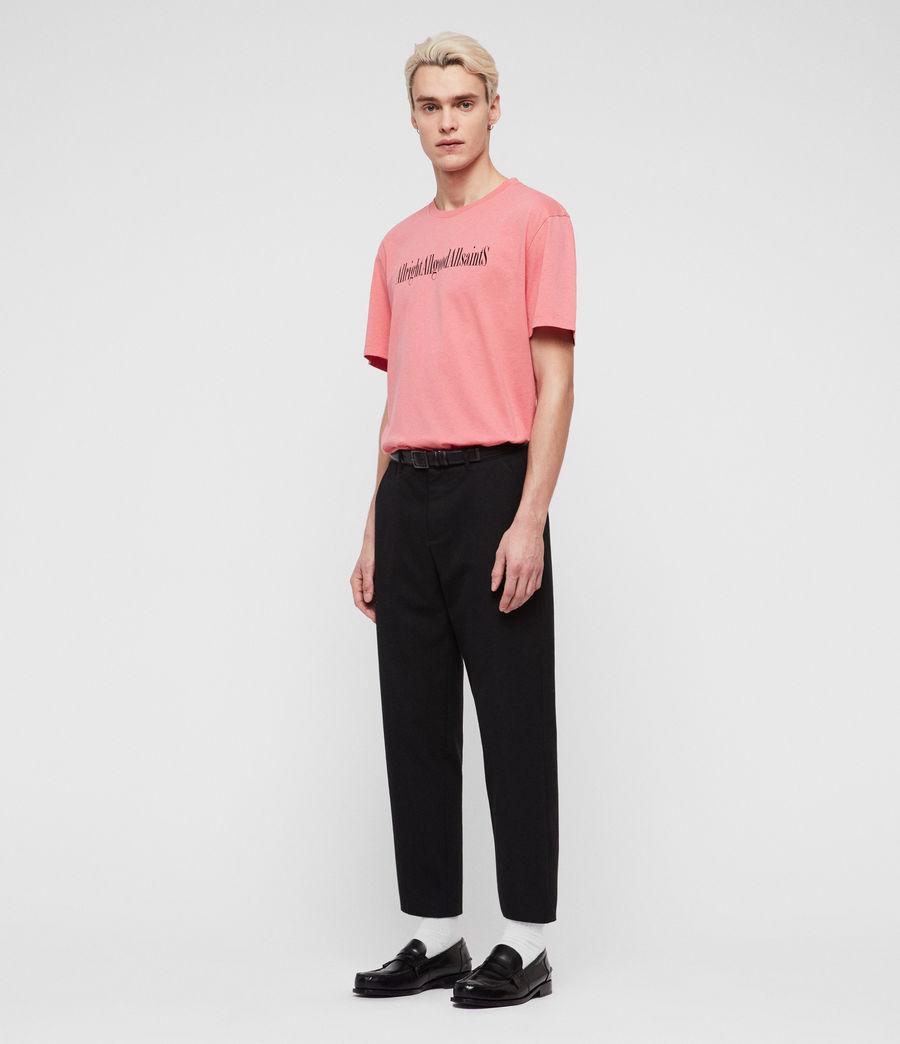 Mens Allgood Crew T-Shirt (sorbet_pink) - Image 4