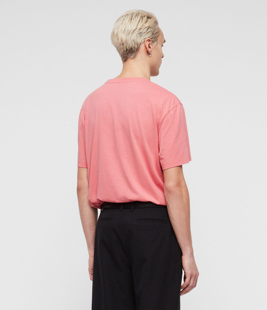 Mens Allgood Crew T-Shirt (sorbet_pink) - Image 5