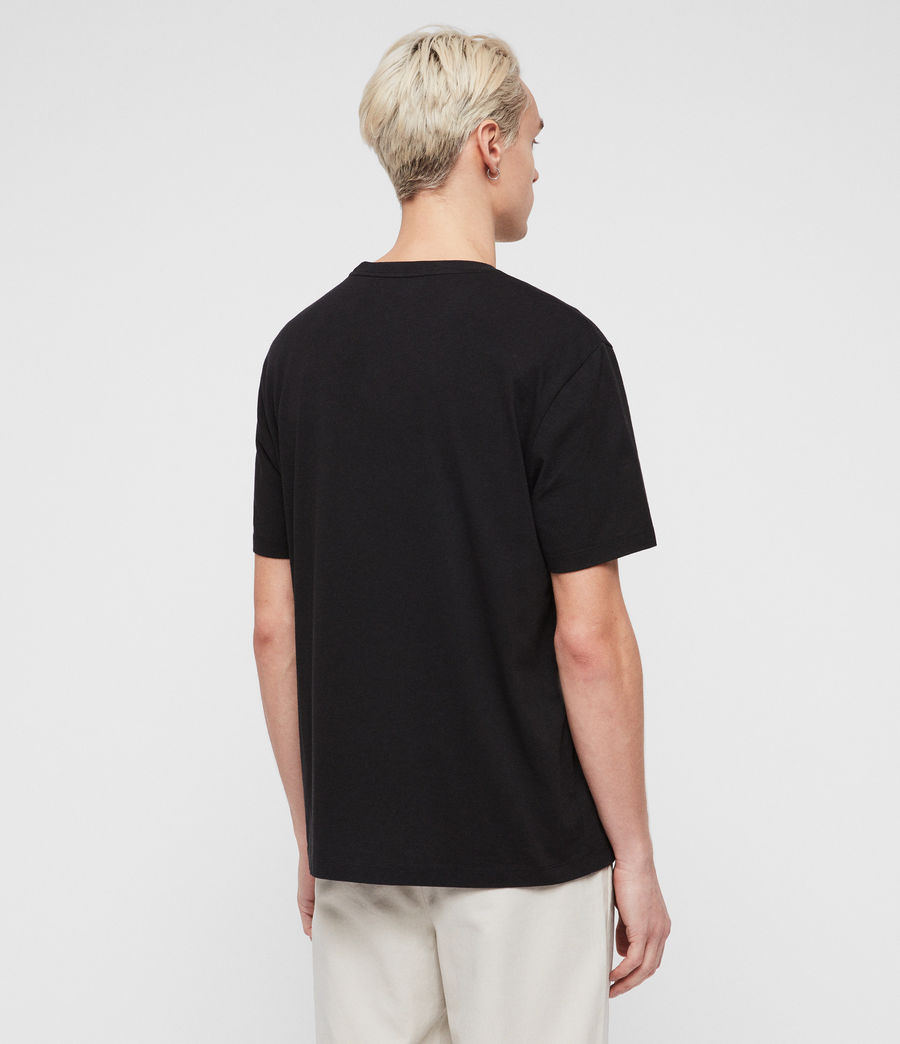 Men's Allgood Crew T-Shirt (jet_black) - Image 4