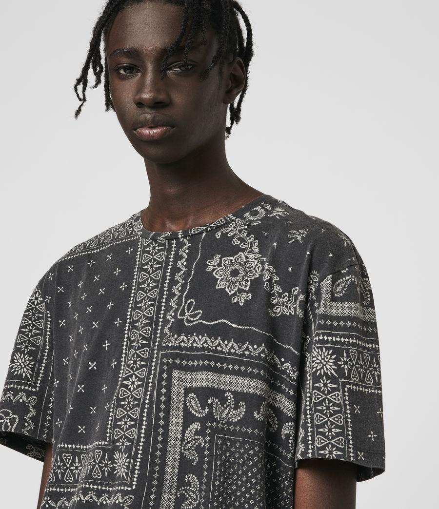 Hombre Bandanax Crew T-Shirt (black) - Image 2