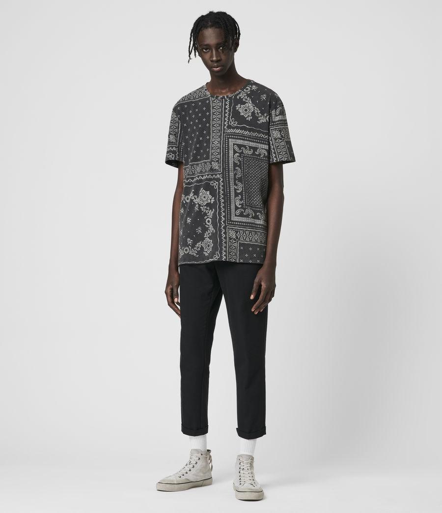 Mens Bandanax Crew T-Shirt (black) - Image 3