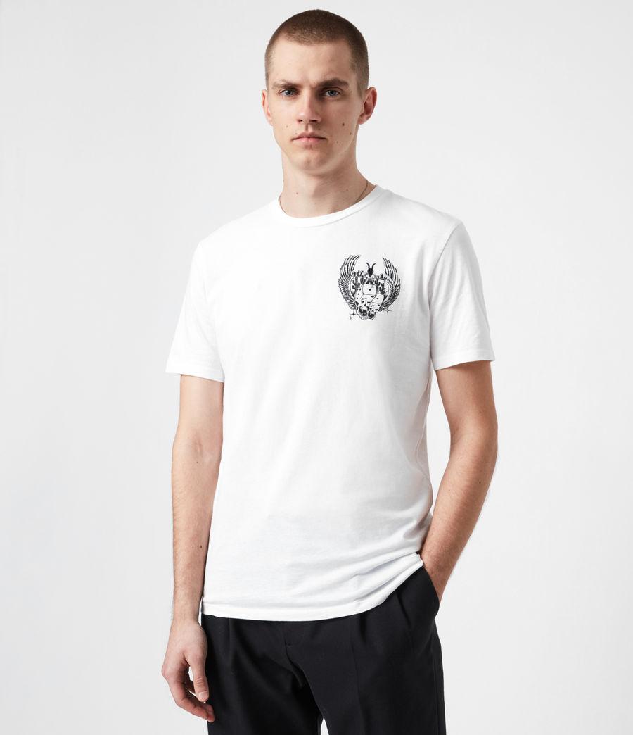 Men's Los Highway Crew T-Shirt (optic_white) - Image 1