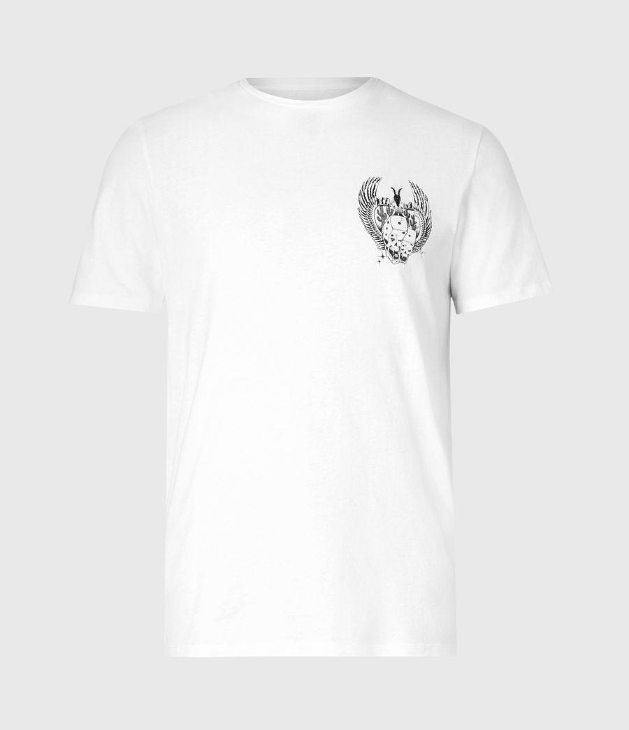 Men's Los Highway Crew T-Shirt (optic_white) - Image 2