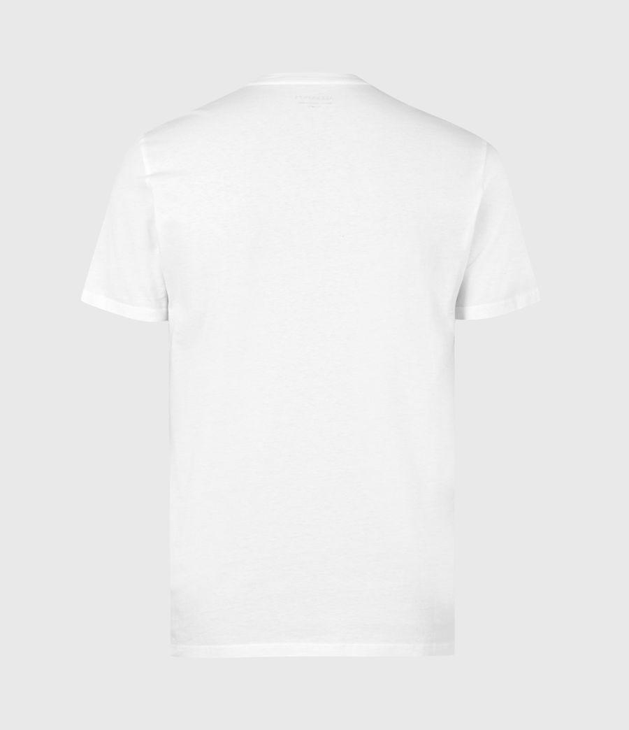Men's Los Highway Crew T-Shirt (optic_white) - Image 3
