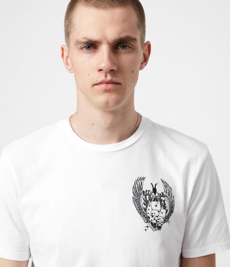Men's Los Highway Crew T-Shirt (optic_white) - Image 4
