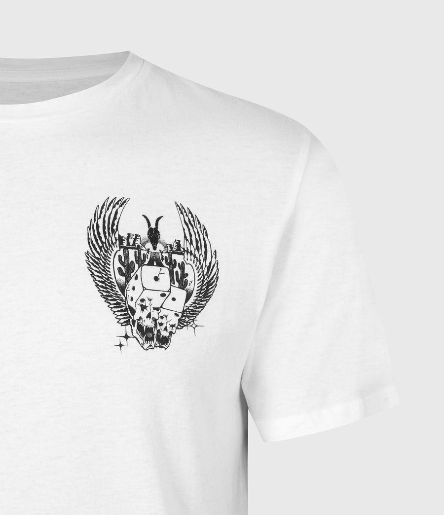 Men's Los Highway Crew T-Shirt (optic_white) - Image 5
