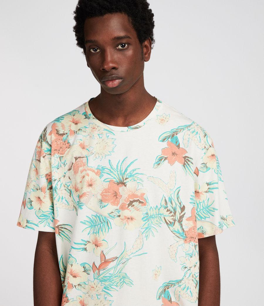 Uomo T-shirt Calypso (chalk) - Image 1