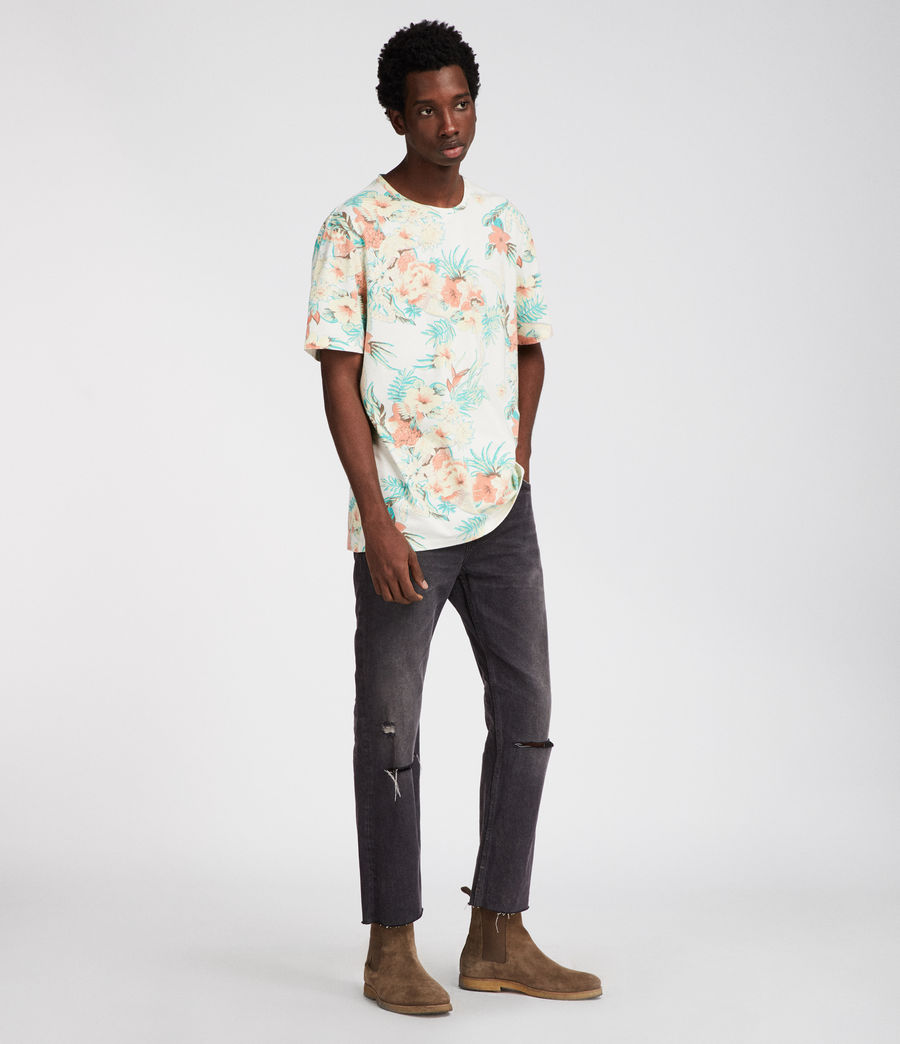 Uomo T-shirt Calypso (chalk) - Image 2