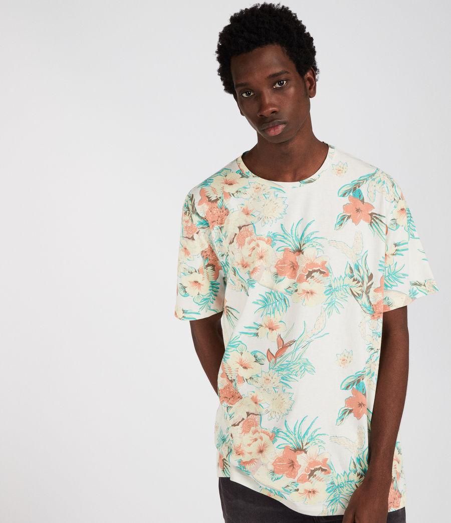 Uomo T-shirt Calypso (chalk) - Image 3