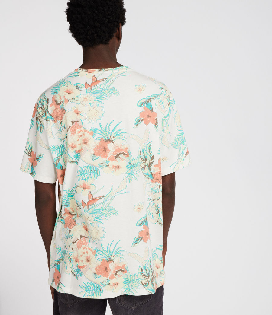 Uomo T-shirt Calypso (chalk) - Image 4