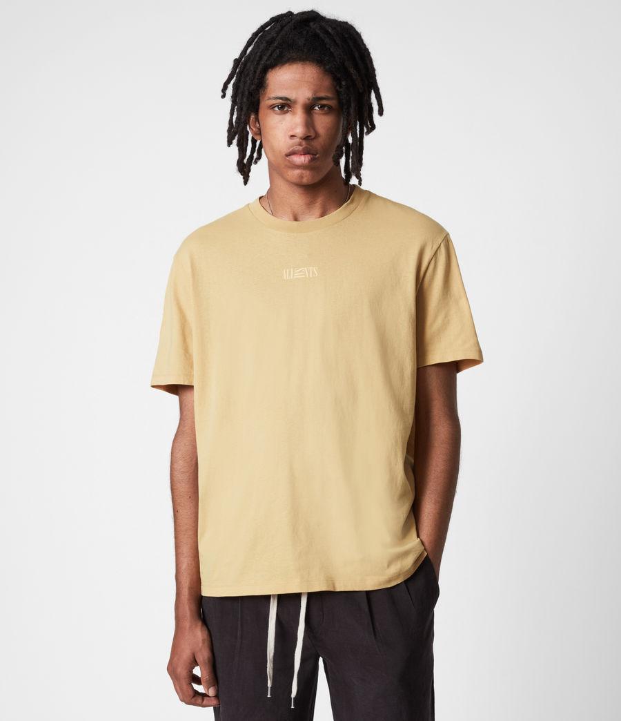 Men's Opposition Crew T-Shirt (cabana_yellow) - Image 1