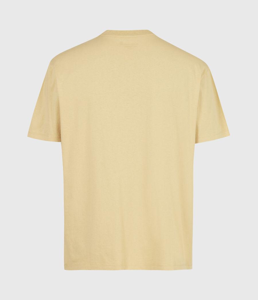 Men's Opposition Crew T-Shirt (cabana_yellow) - Image 3