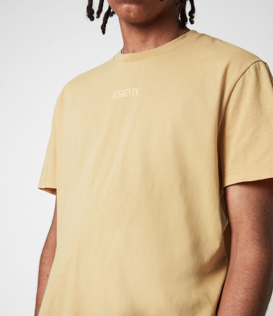 Men's Opposition Crew T-Shirt (cabana_yellow) - Image 4