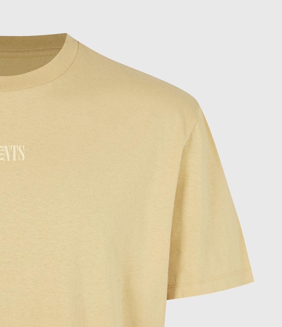 Men's Opposition Crew T-Shirt (cabana_yellow) - Image 5