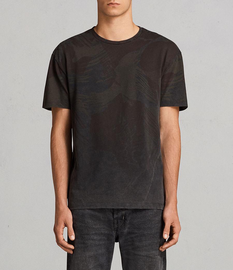 Men's Contour Crew T-Shirt (black) - Image 1