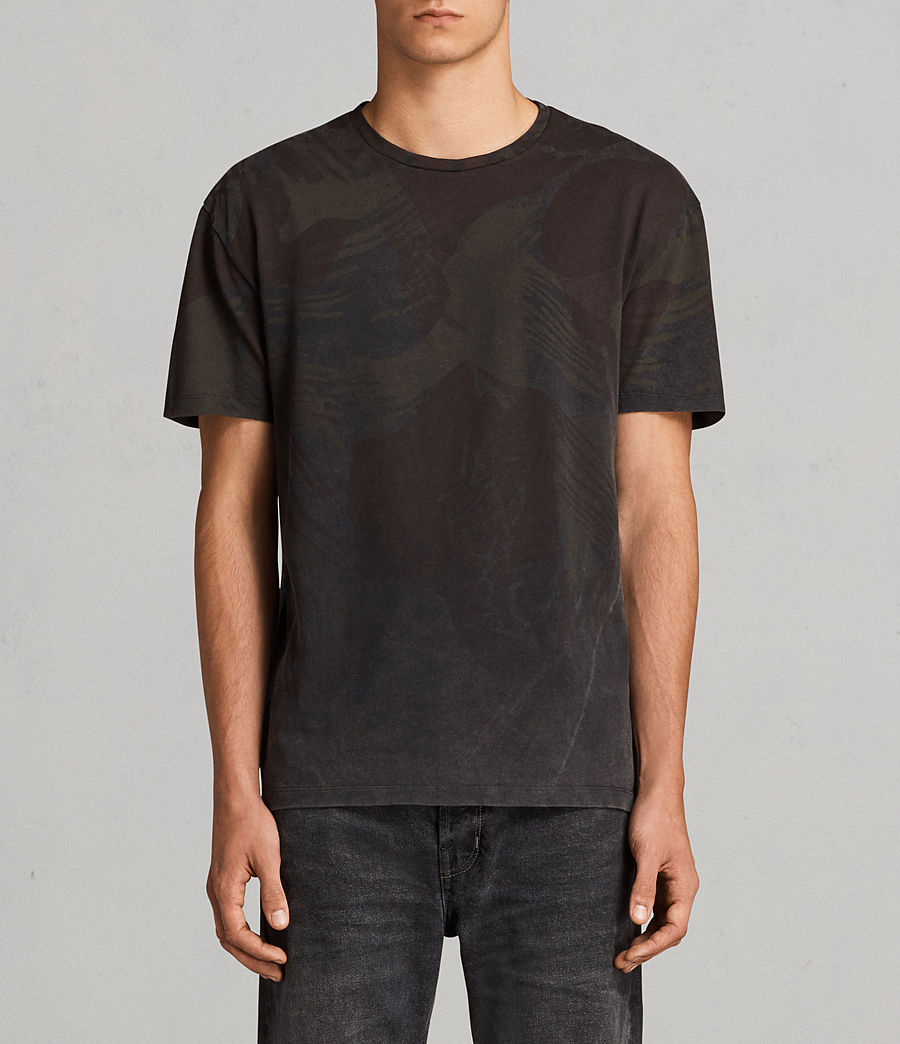 Herren Contour Crew T-Shirt (black) - Image 1