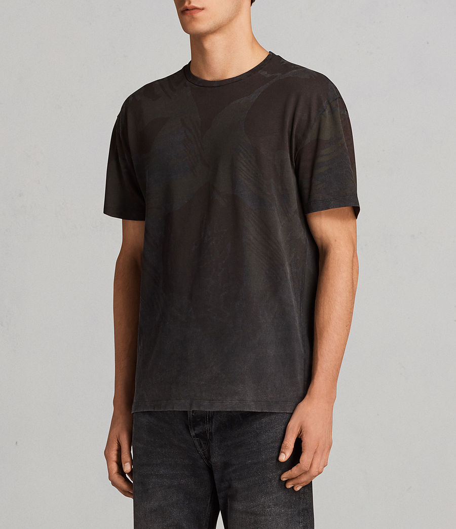 Men's Contour Crew T-Shirt (black) - Image 3