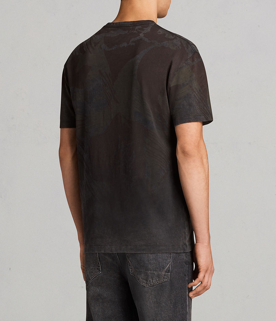 Herren Contour Crew T-Shirt (black) - Image 4