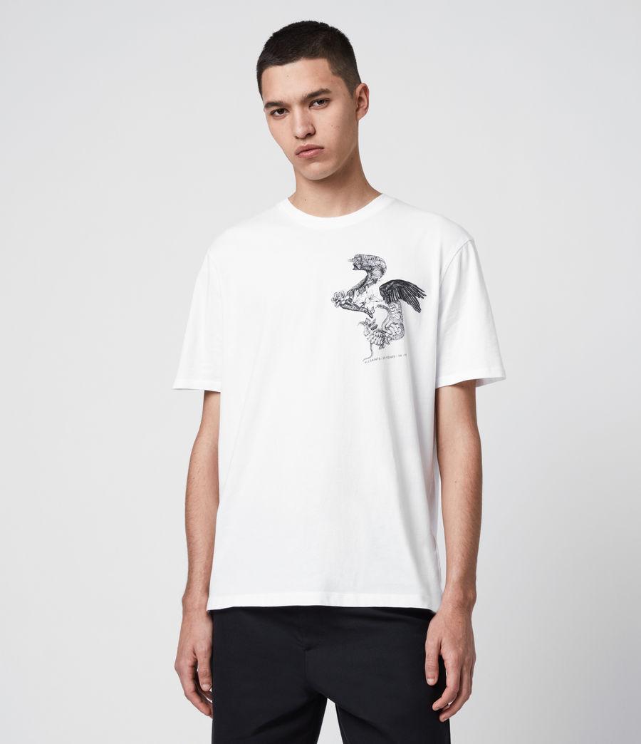 Uomo T-Shirt Bouquets - Beneficenza AllSaints 1994 (white) - Image 1