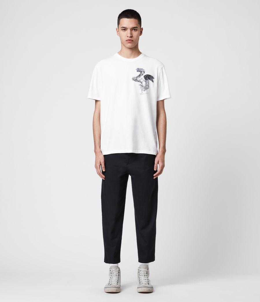 Uomo T-Shirt Bouquets - Beneficenza AllSaints 1994 (white) - Image 3