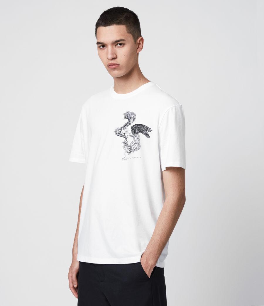 Uomo T-Shirt Bouquets - Beneficenza AllSaints 1994 (white) - Image 4