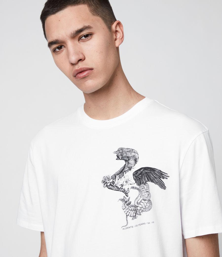 Uomo T-Shirt Bouquets - Beneficenza AllSaints 1994 (white) - Image 5