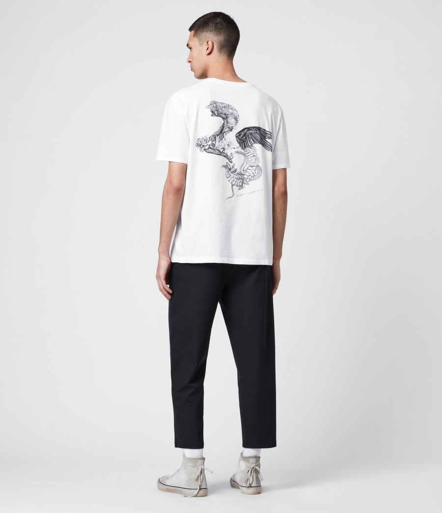 Uomo T-Shirt Bouquets - Beneficenza AllSaints 1994 (white) - Image 6
