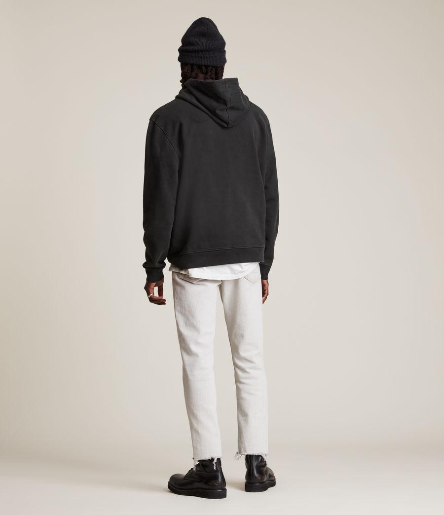 Men's Posie Pullover Hoodie (jet_black) - Image 6