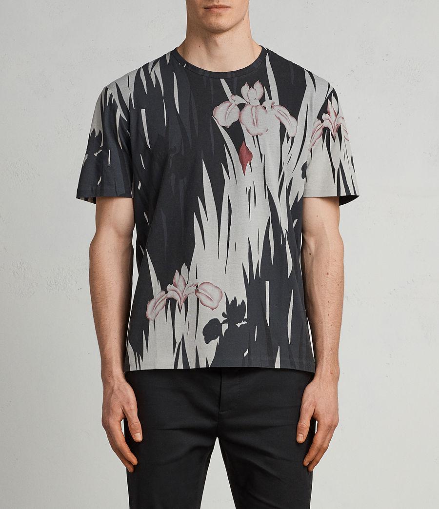 Men's Nahiku Crew T-Shirt (vintage_black) - Image 1