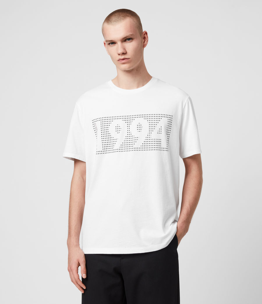 Hombres Camiseta Ninetyfour (white) - Image 1