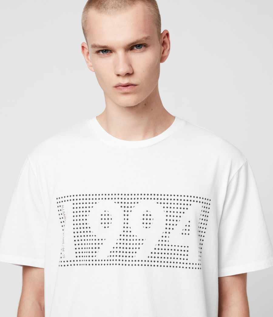 Mens Ninetyfour Crew T-Shirt (white) - Image 2