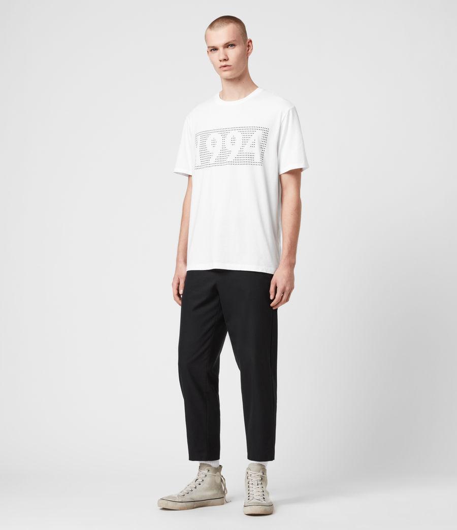 Mens Ninetyfour Crew T-Shirt (white) - Image 3