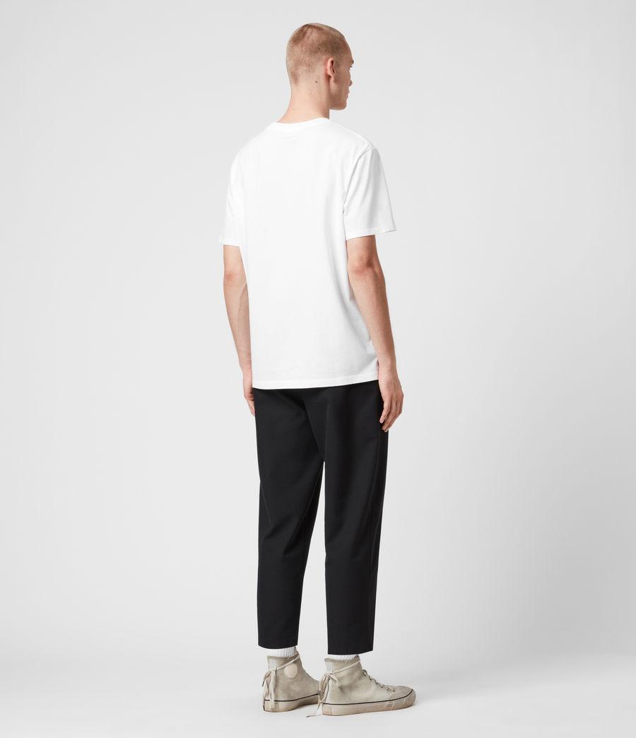 Mens Ninetyfour Crew T-Shirt (white) - Image 6