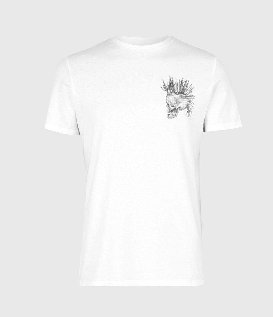 Mens Forsaken Crew T-Shirt (optic_white) - Image 2