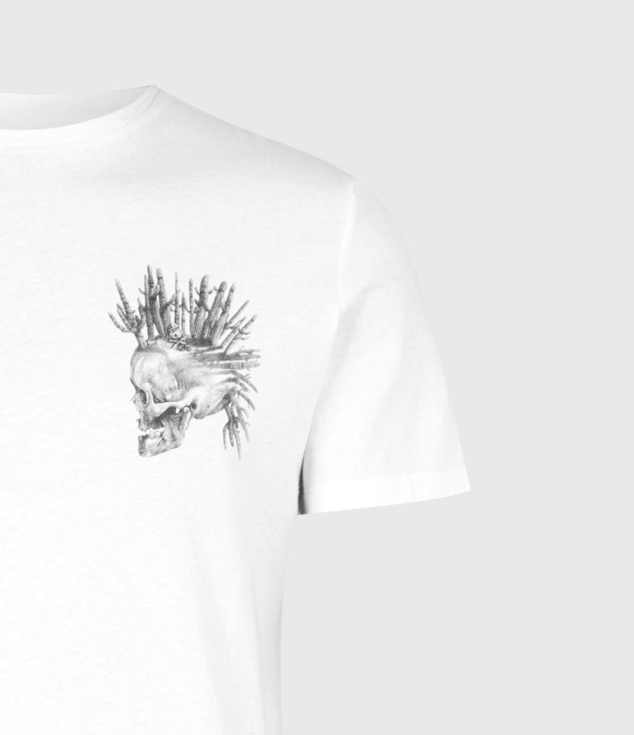Mens Forsaken Crew T-Shirt (optic_white) - Image 5