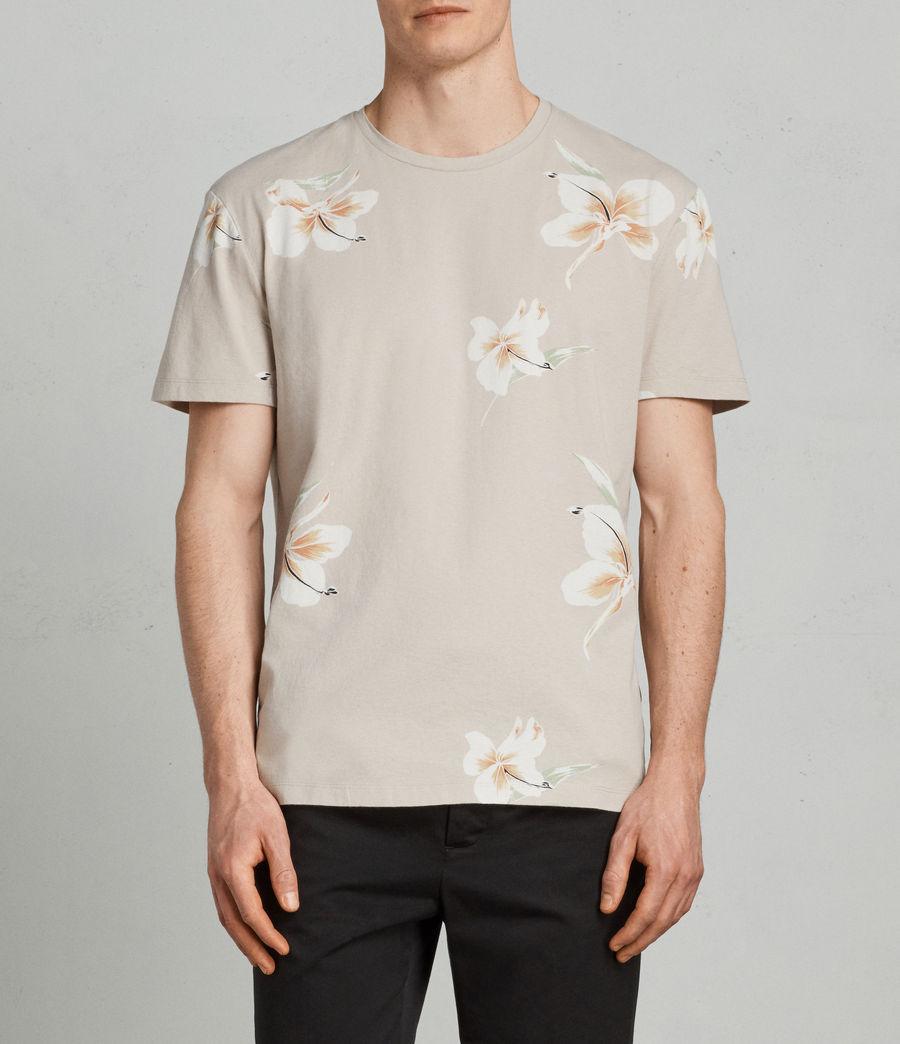 Mens Lily Crew T-Shirt (dark_grey) - Image 1