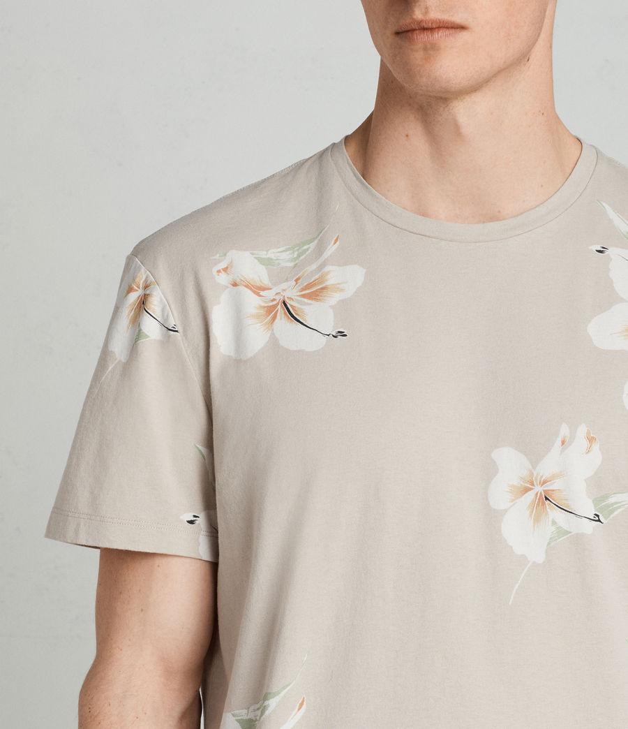 Mens Lily Crew T-Shirt (dark_grey) - Image 2