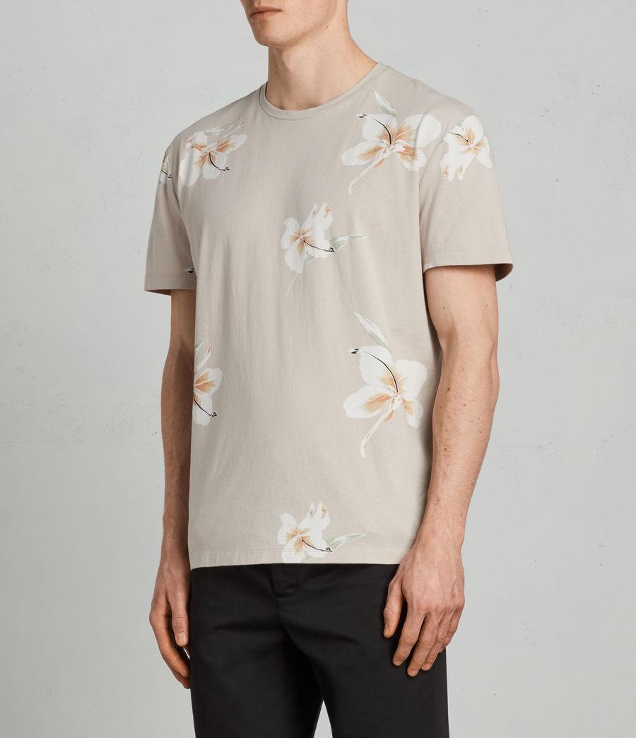 Mens Lily Crew T-Shirt (dark_grey) - Image 3