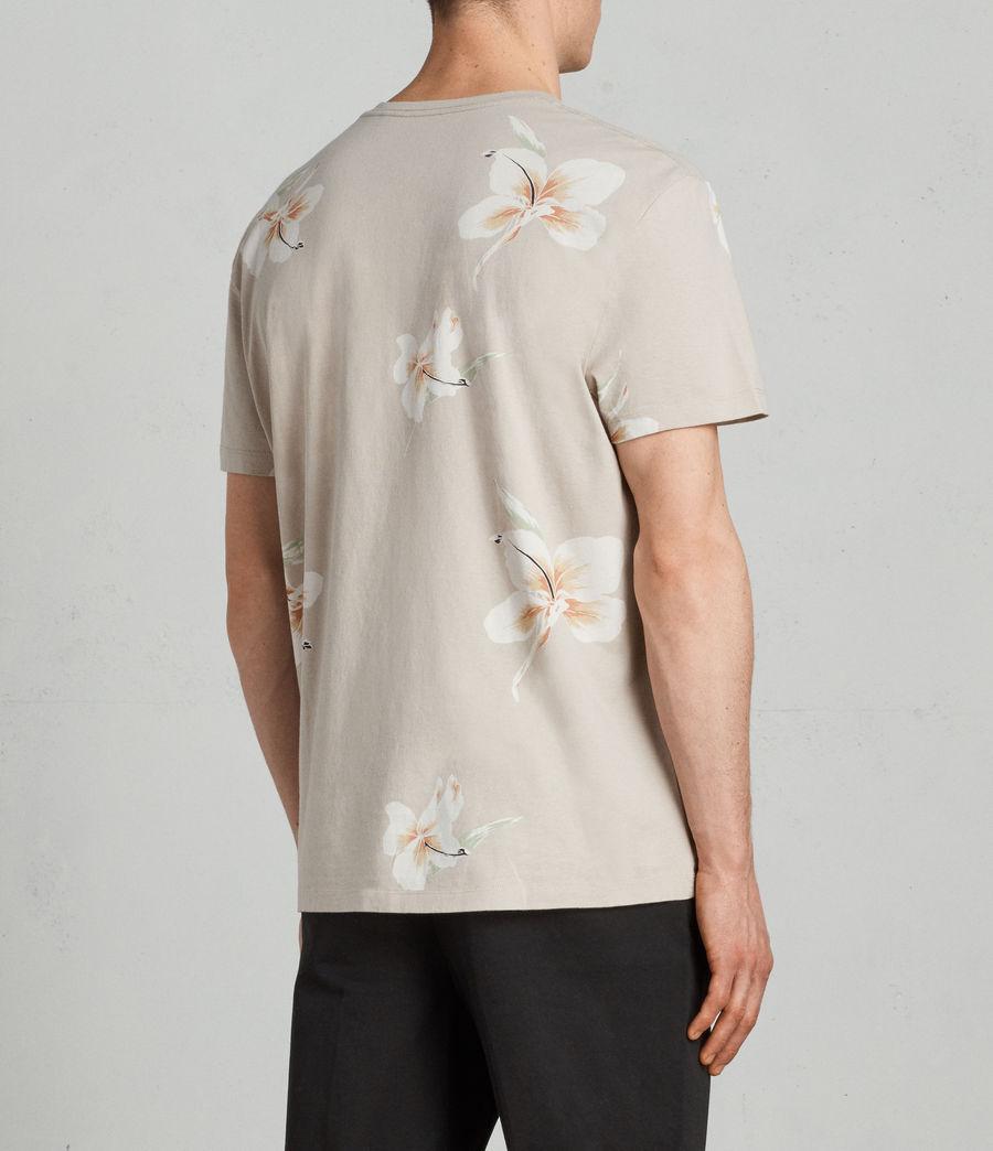 Mens Lily Crew T-Shirt (dark_grey) - Image 4