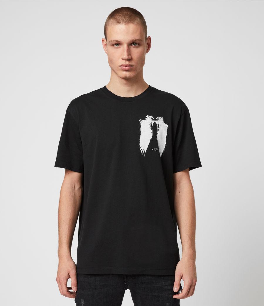 Men's Wings Crew T-Shirt (black) - Image 1