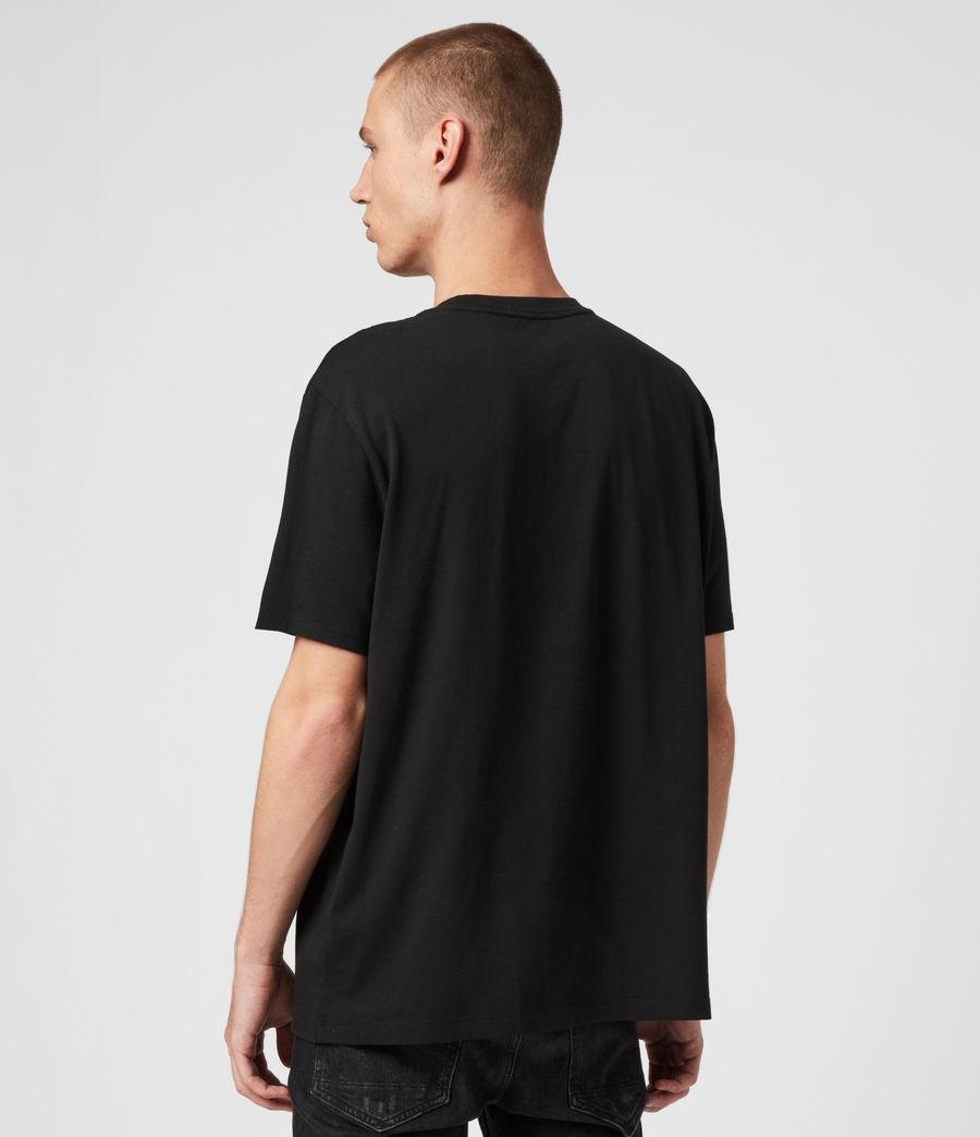 Men's Wings Crew T-Shirt (black) - Image 5
