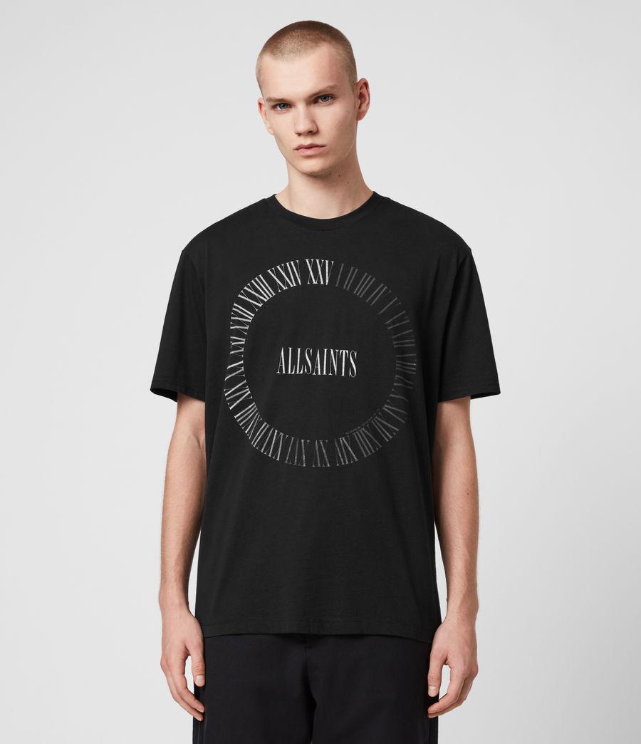 Men's Chrono Crew T-Shirt (black) - Image 1
